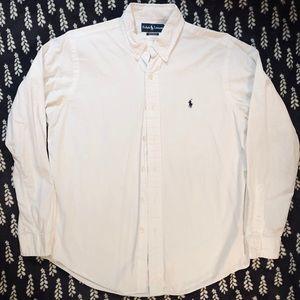 Ralph Lauren Mens Button Down Shirt
